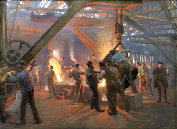 Fra Burmeister og Wain's Iron Foundry