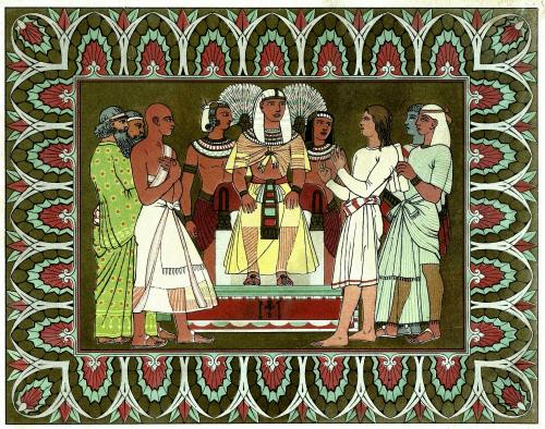 """Pharaoh's dream"" by Owen Jones - http://www.gallery.oldbookart.com/main.php?g2_itemId=30588. Licensed under Public Domain via Wikimedia Commons - https://commons.wikimedia.org/wiki/File:Pharaoh%27s_dream.JPG#/media/File:Pharaoh%27s_dream.JPG"